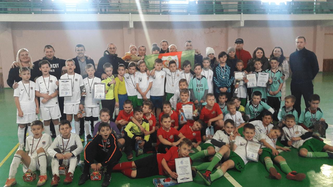 Рождественский турнир по мини-футболу среди детей