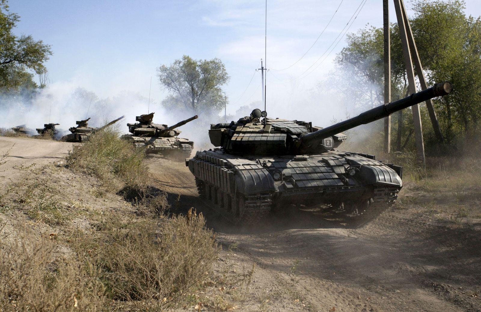 Танковые подразделения проходят усиленные тренировки