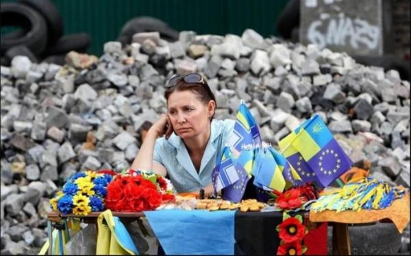 Реальное положение дел на украине со слов очевидца. Видео