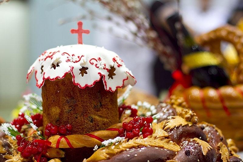 Проведение Пасхальной службы в Светлое Христово Воскресенье в Пантелеймоновке
